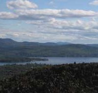 Schroon Lake and WOL Island