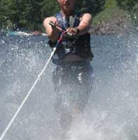 Water Skier on Schroon Lake