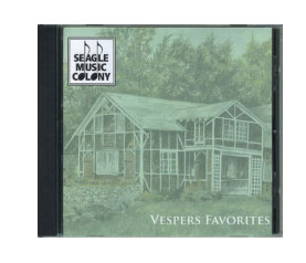 Vespers Favorites CD