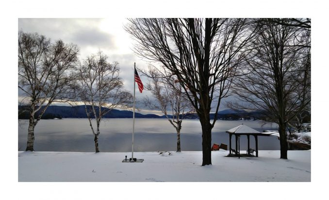 Schroon Lake Town Park - Winter